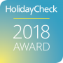 HolidayCheck 2018 Award