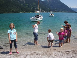 Kinder am Achensee